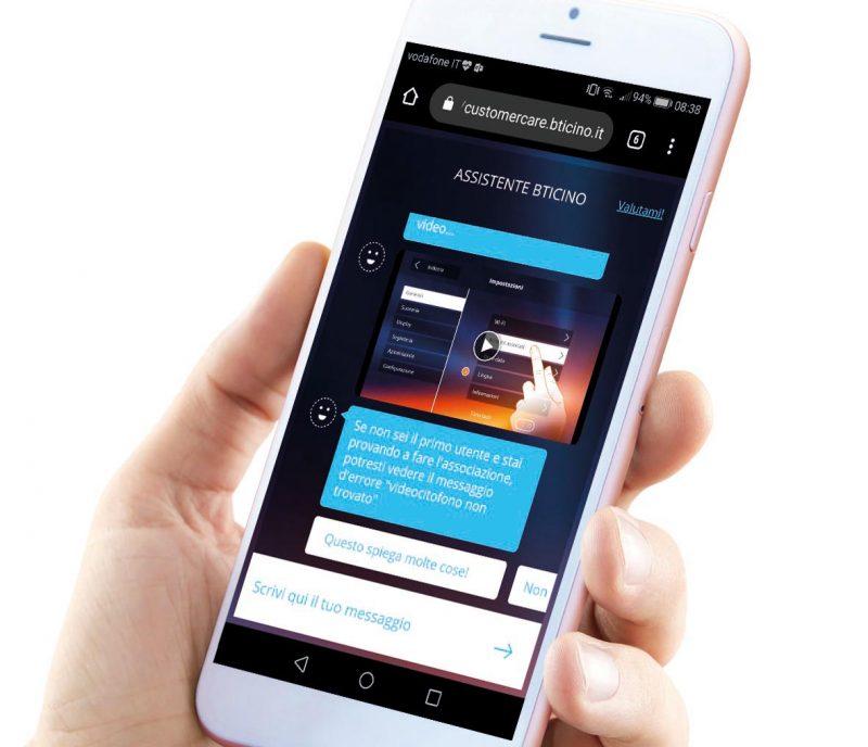 Assistente BTicino: nell'App un supporto virtuale per il videocitofono Classe300X