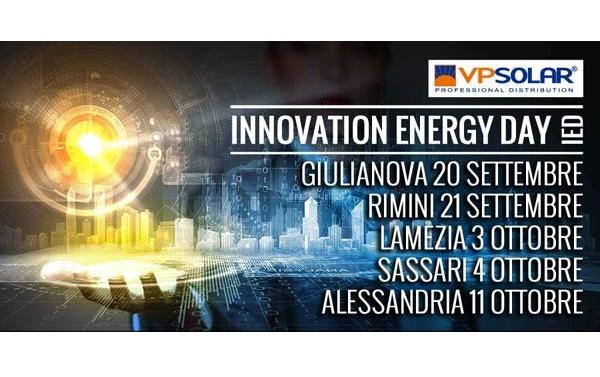 Innovation Energy Day: continua il roadshow VP Solar