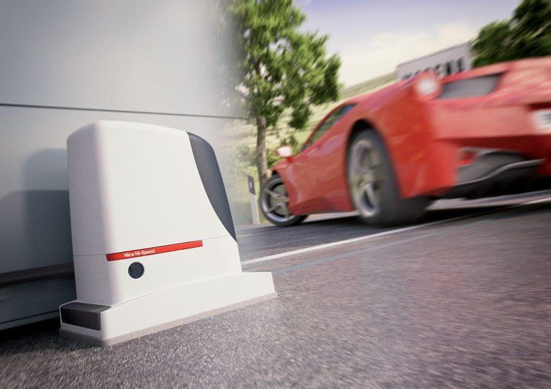 Nice Hi-Speed: sistemi ad alta velocità per l'automazione di cancelli