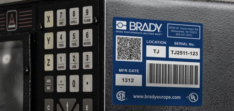 Ogni superficie, qualsiasi ambiente: etichette di identificazione Brady
