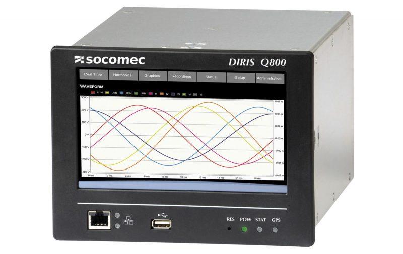 Diris Q800, il rivoluzionario analizzatore di rete di Socomec