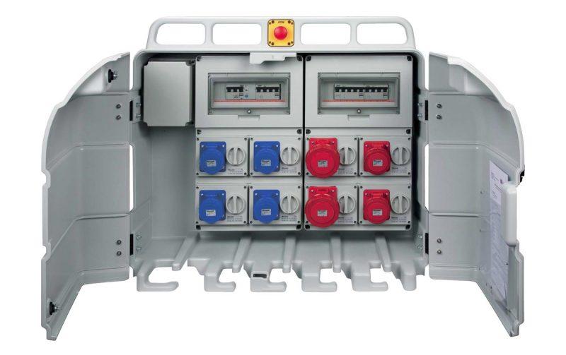 Impianto elettrico in cantiere: Panel System di Elettrocanali