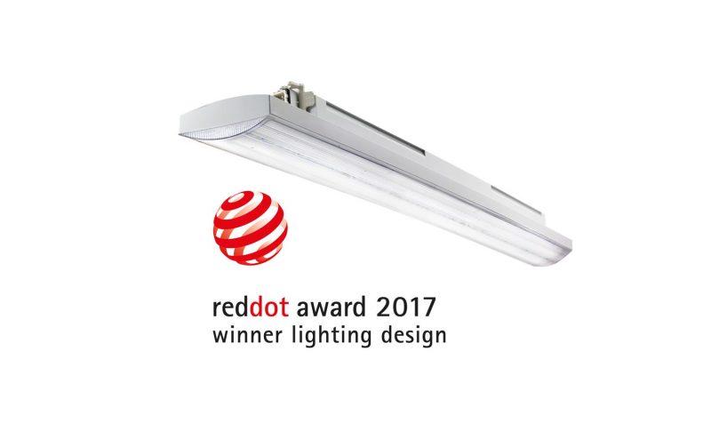 La plafoniera led Smart[3] di Gewiss si aggiudica il Red Dot Award