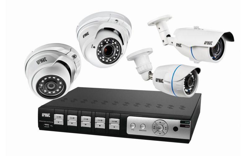Soluzioni AHD 4M di Urmet: sicurezza in alta definizione