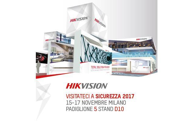 Le soluzioni Hikvision a Sicurezza 2017