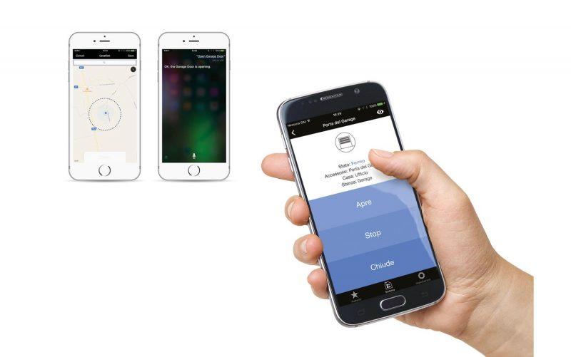 Nice e apple homekit per una casa a portata di iphone elettricoplus