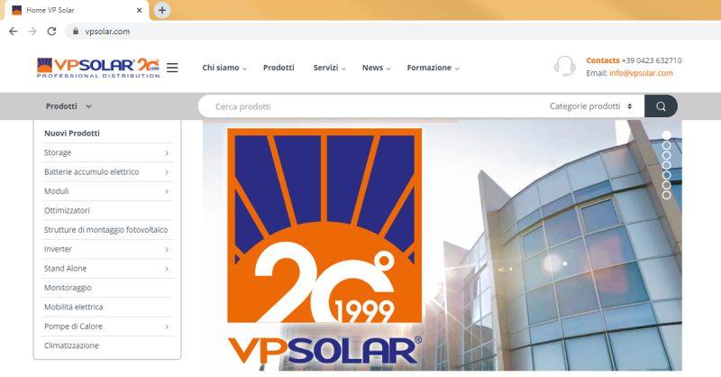 2019: anno di grande crescita per www.vpsolar.com