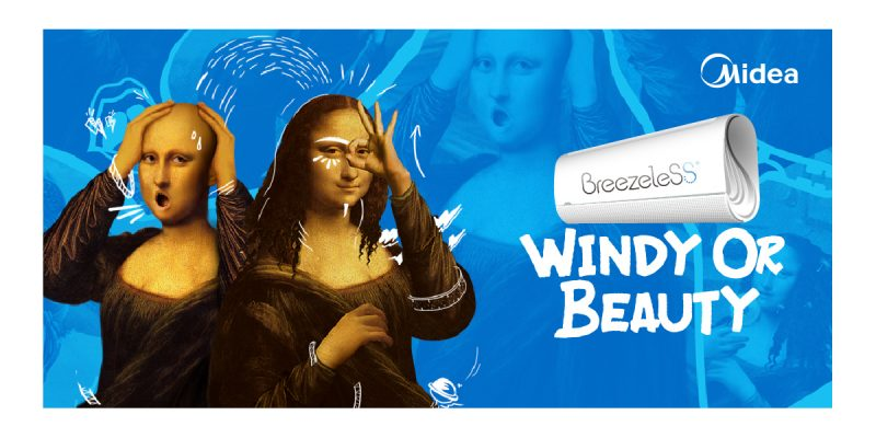 Midea sbarca su Tik Tok e lancia la campagna #Windyorbeauty