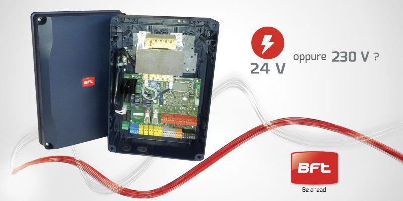 24V o 230V: la miglior soluzione per l'automazione dei cancelli