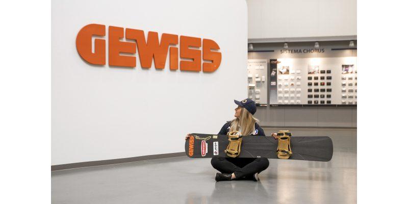 Gewiss è Title Sponsor di Michela Moioli, medaglia d'oro di snowboard