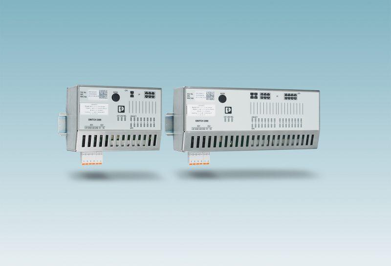 Da Phoenix Contact Managed switch per quadri elettrici piatti