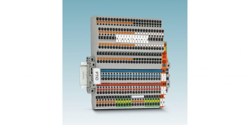 Nuovi morsetti sensori/attuatori di Phoenix Contact: risparmio di tempo e di spazio