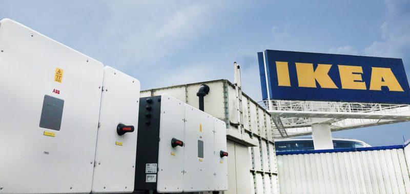 Gli inverter ABB per l'efficientamento energetico di IKEA