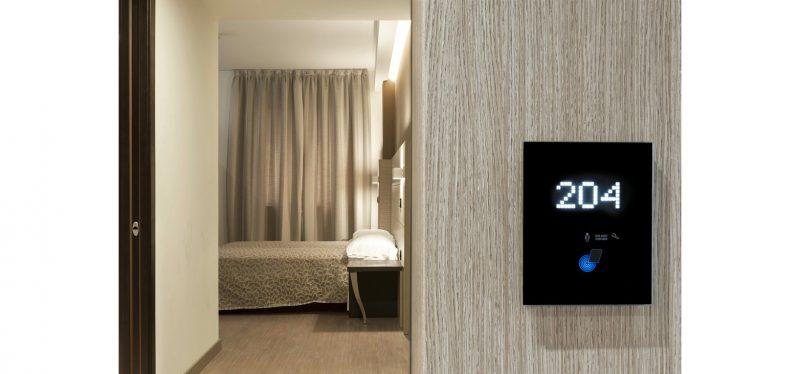 L'Hotel La Conchiglia sceglie il dispositivo AVE Vip System Touch