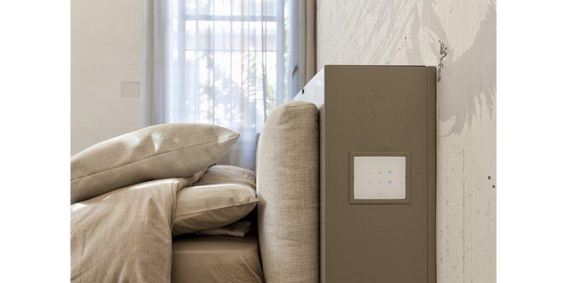 Interruttori touch e design AVE per un ricercato appartamento di Bologna