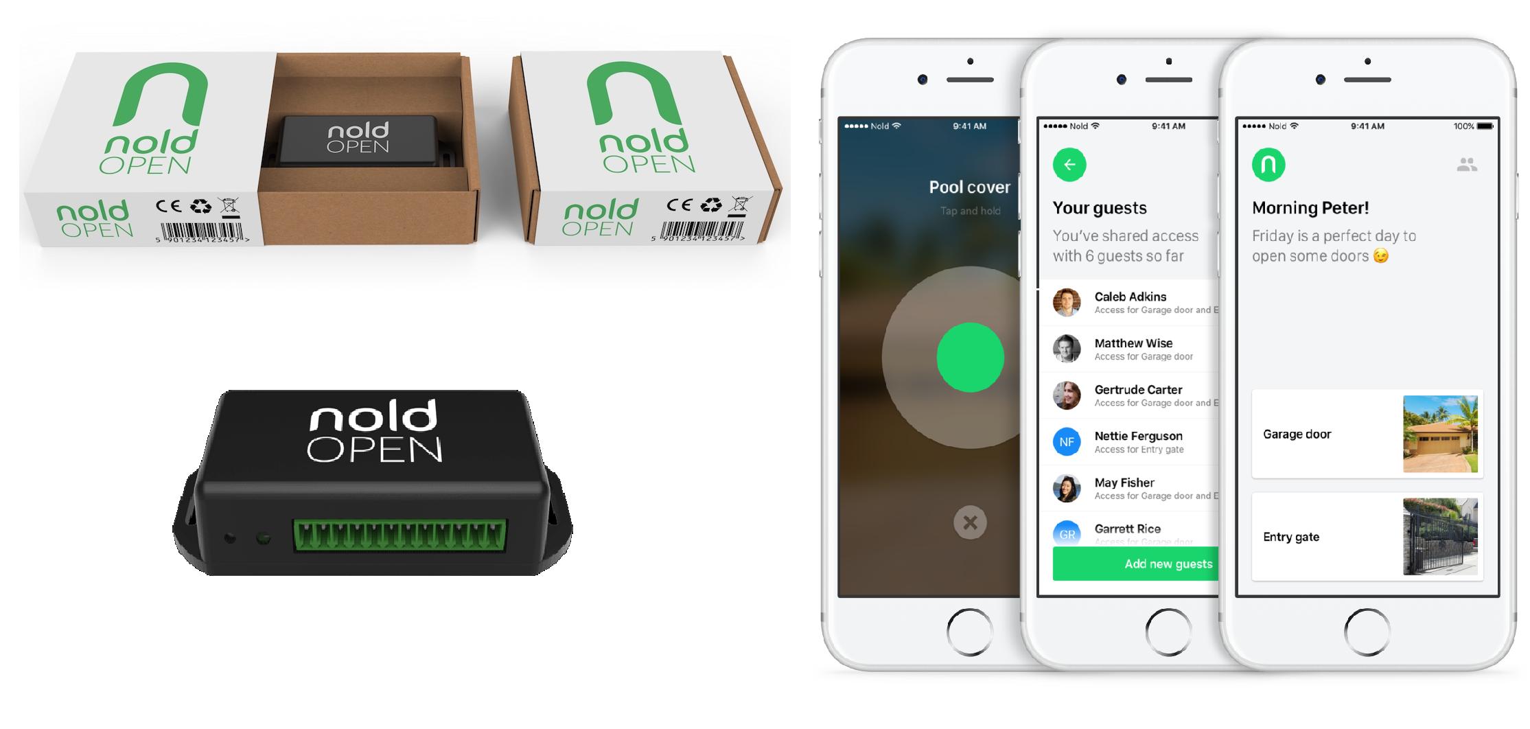 Nold open dispositivo bluetooth per la gestione accessi for Smartphone piccole dimensioni