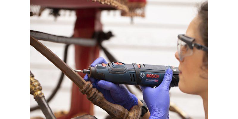 Elettroutensili Bosch Professional: a fianco dell'IER per un restauro