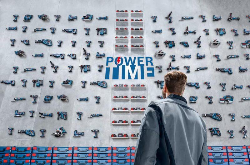 Tornano le promozioni Power Time di Bosch Professional fino al 31 marzo