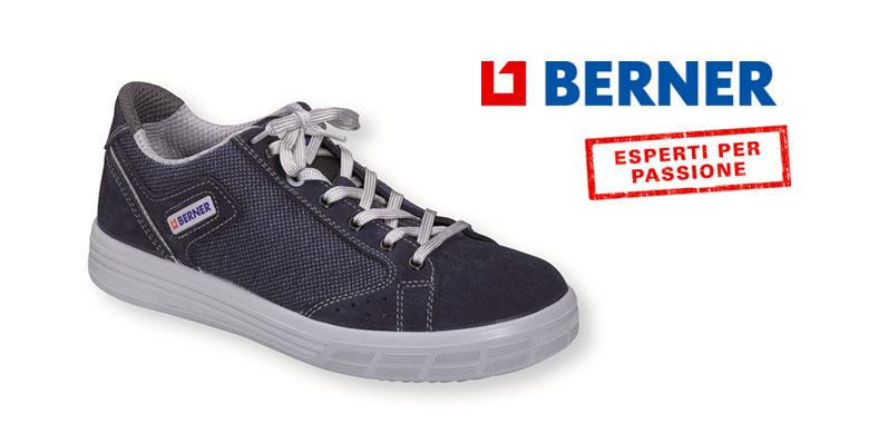 Berner presenta la scarpa antinfortunistica sneaker New Age
