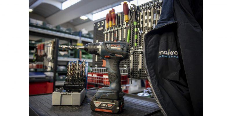 Gli elettroutensili Bosch Professional al servizio di Makro Labelling