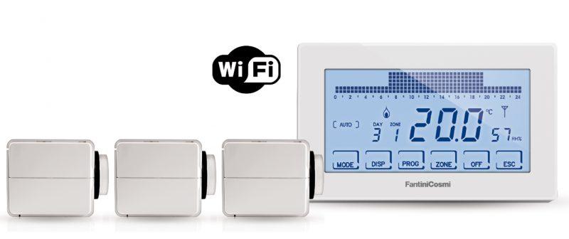 Kit Intellicomfort+ di Fantini Cosmi: la soluzione per la termoregolazione