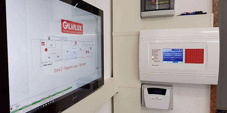Comelit, nuovi impianti rivelazione fumi ATEX presso Galvalux