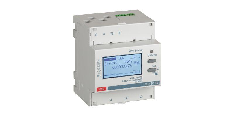 Conto: i nuovi contatori di energia a marchio IME