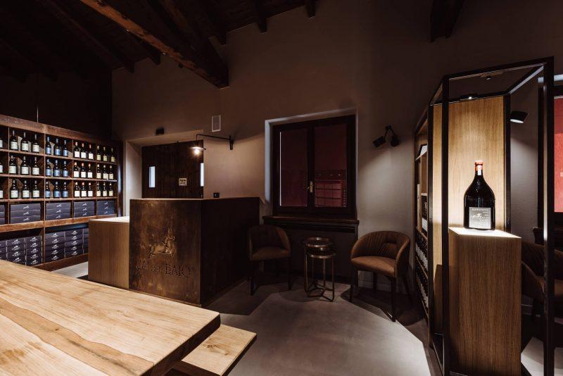 iGuzzini valorizza la sala degustazione della storica Ca' del Baio
