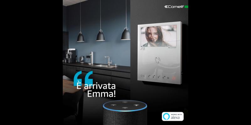 Comelit ottiene la certificazione Amazon per il videocitofono Mini Wi-Fi