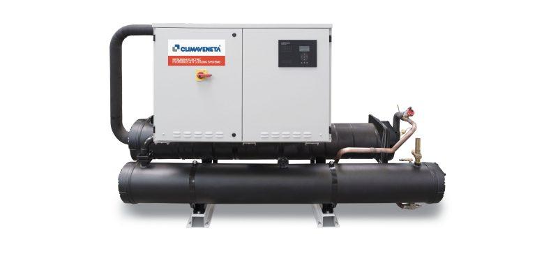 Mitsubishi Electric presenta le pompe di calore FX-W/H a marchio Climaveneta