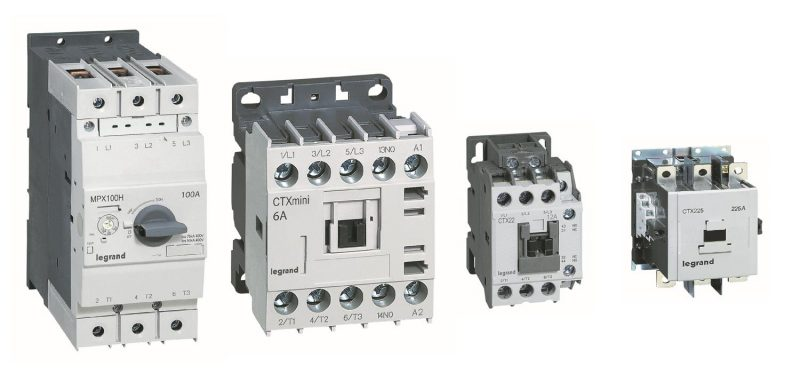 Massima efficienza in dimensioni compatte: salvamotori e contattori Legrand