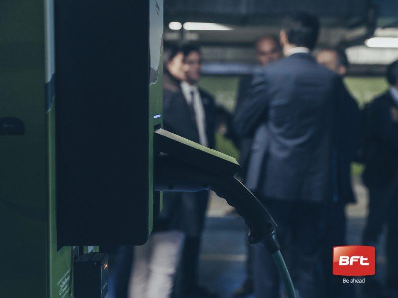 Software Bft per il primo parcheggio italiano dedicato alle auto elettriche