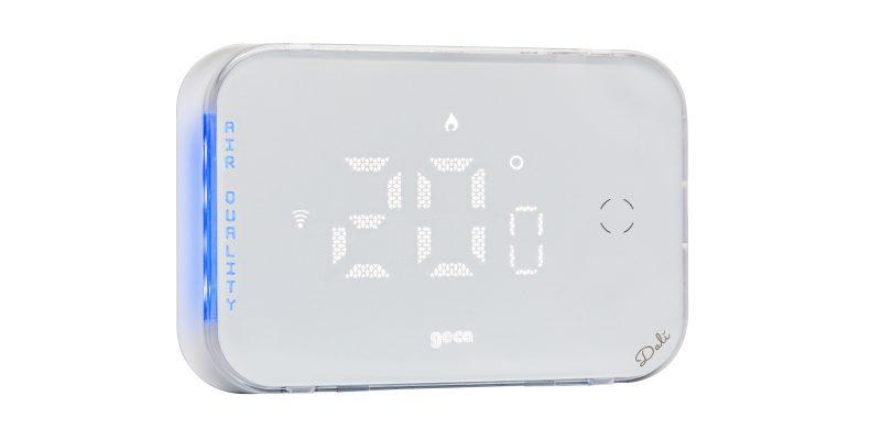 Dalì: da Geca il cronotermostato che monitora la qualità dell'aria