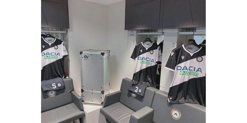 Con Depuro Pro, Vortice si prende cura del benessere dell'Udinese Calcio