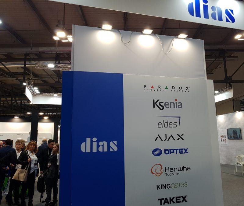 DIAS ha presentato ai visitatori di SICUREZZA 2019 i suoi prodotti di punta