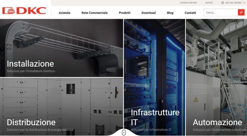 DKC rinnova il sito web per essere sempre a fianco dei suoi clienti