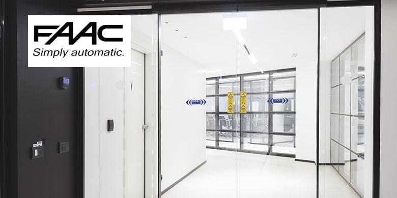 La nuova automazione per porte scorrevoli FAAC A1000