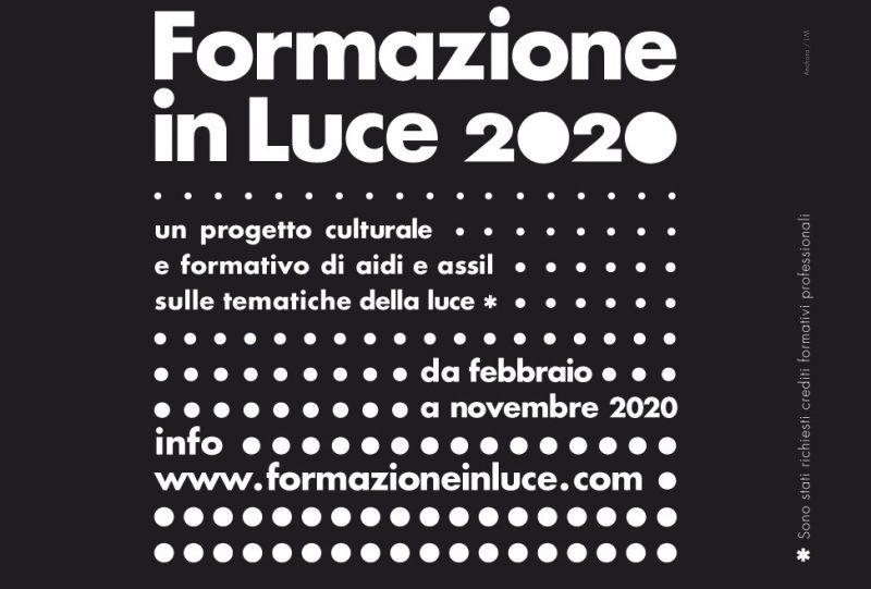 Formazione in Luce, progetto formativo e culturale sulle tematiche della luce
