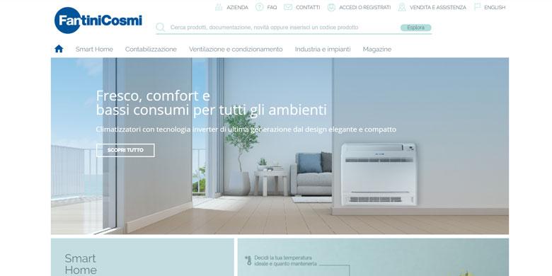 Fantini Cosmi, un nuovo sito all'insegna della digital trasformation