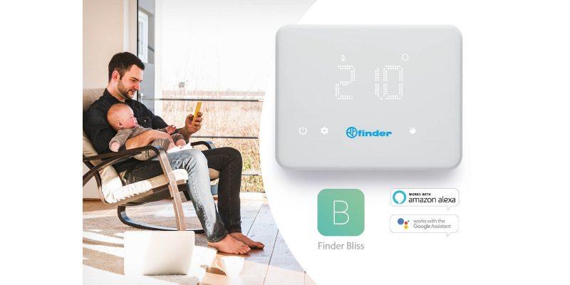 Finder Bliss: la nuova App per il tuo cronotermostato WiFi
