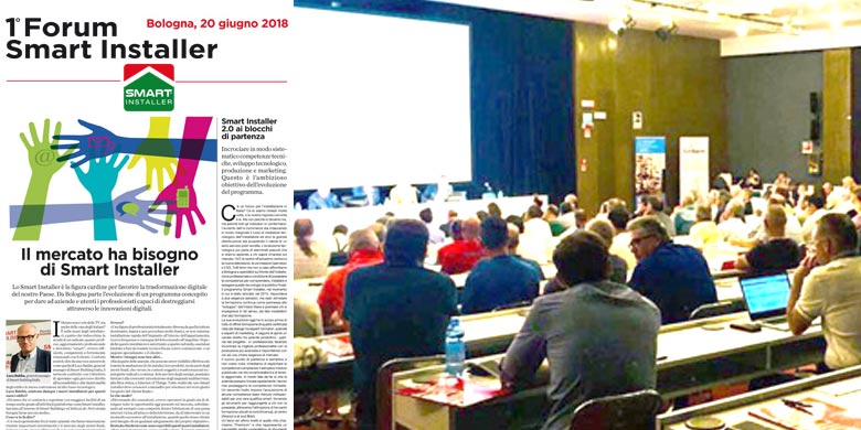 Smart Building: Il successo del Forum Smart Installer