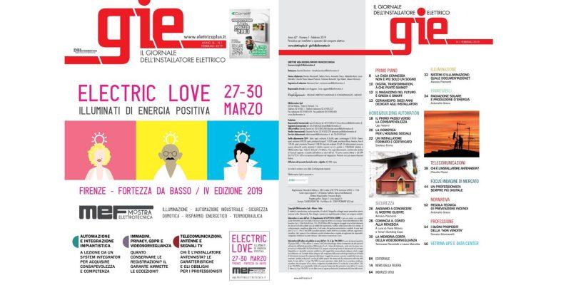Sfoglia il numero di febbraio del Giornale dell'Installatore Elettrico