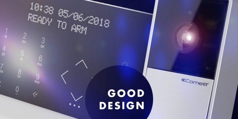Good Design Award 2018 a Comelit