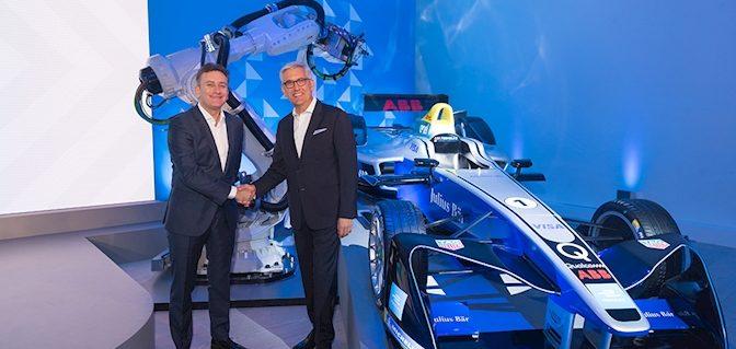 ABB corre con la Formula E verso il futuro dell'e-mobility