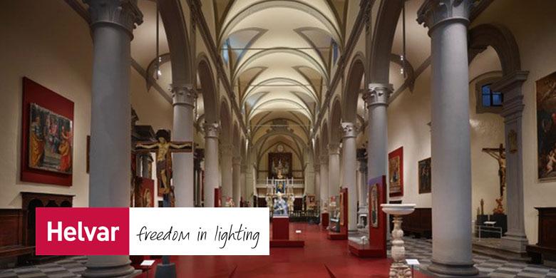 luce targata Helvar per il Museo Diocesano d'Arte Sacra di Volterra