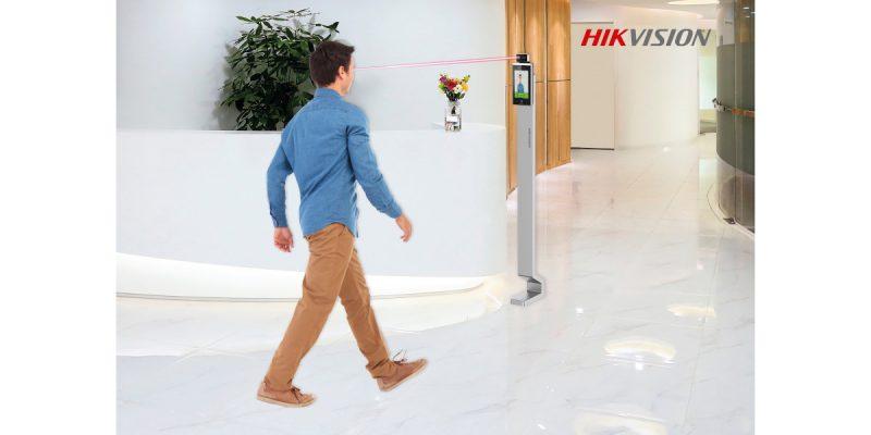 Controllo accessi termografico: l'AI Hikvision a servizio della sicurezza