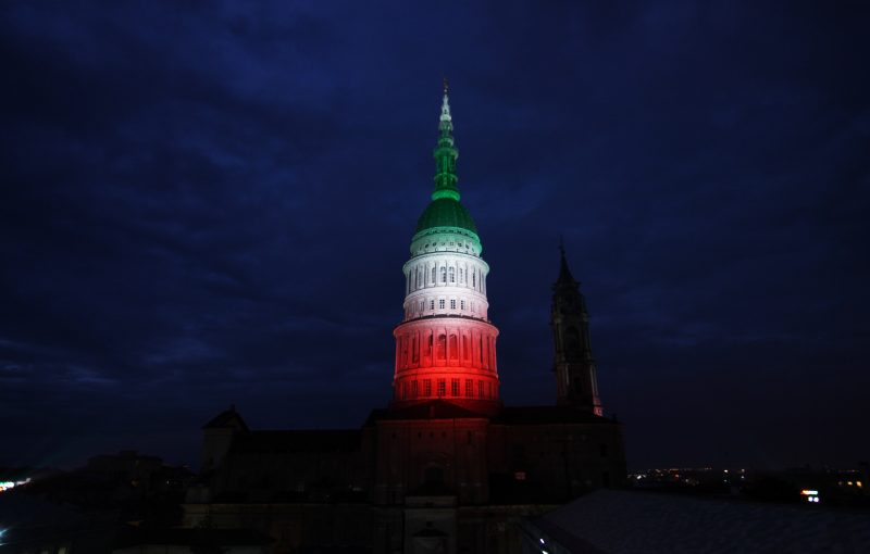 Signify presenta la nuova illuminazione dinamica della Cupola di San Gaudenzio di Novara