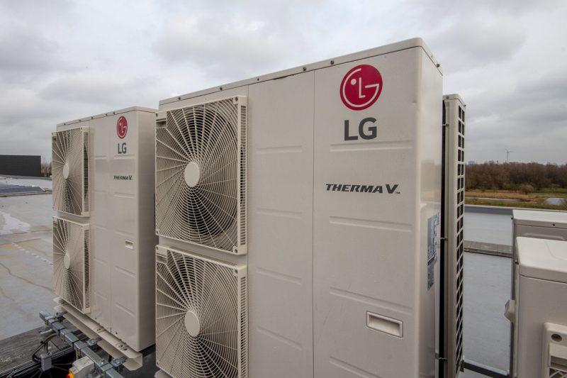 LG scelta per gestire il clima del nuovo centro distribuzione di Amsterdam