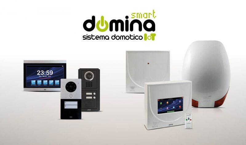 DOMINA Smart AVE: antintrusione e videocitofonia in un sistema integrato
