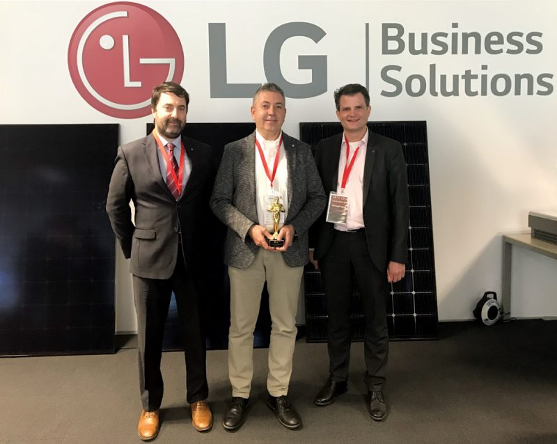 LG Solar premia VP Solar nel meeting annuale a Madrid